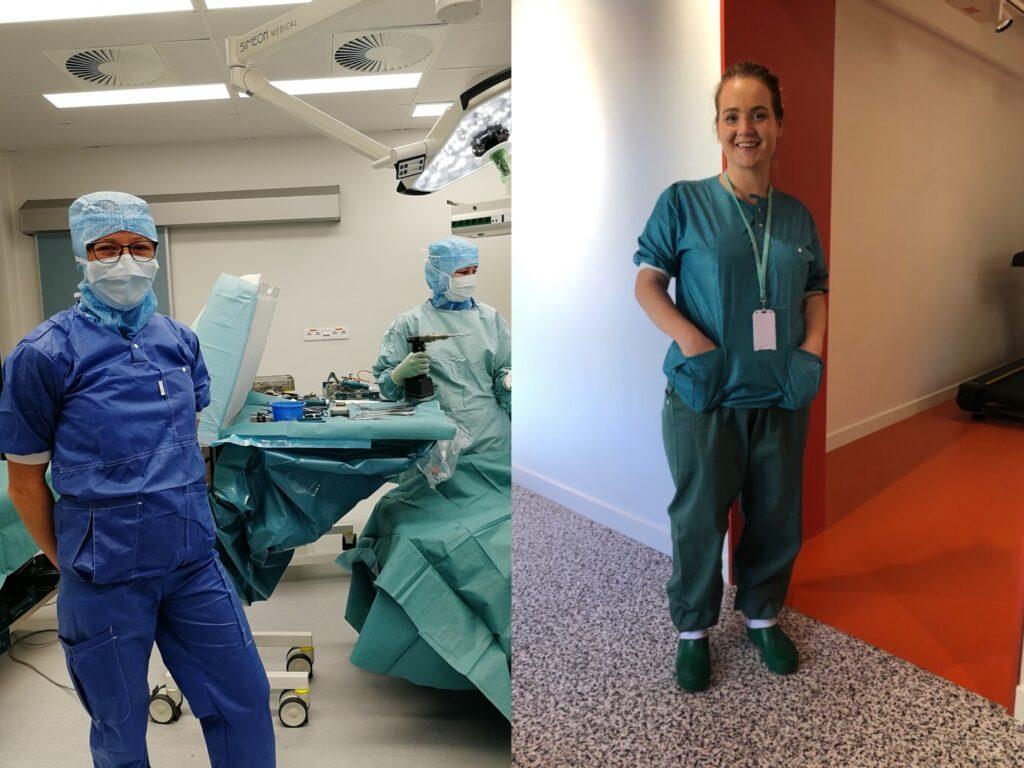 Observerer kirurgi